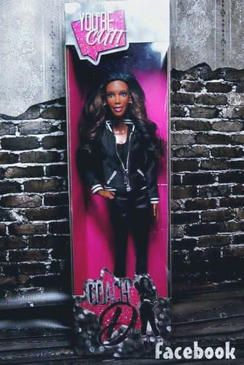 Bring It Miss D Dianna Williams doll