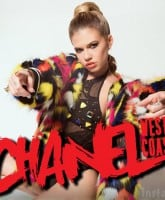 Chanel West Coast poster logo
