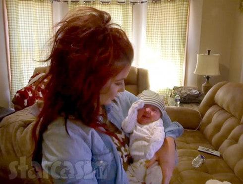 Chelsea Houska DeBoer and son Watson on Teen Mom 2