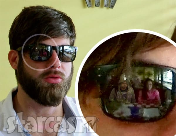 David Eason sunglasses Kieffer Delp reflection