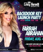 Farrah Abraham Backdoor Key party at Crazy Horse III Las Vegas strip club