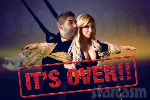 Farrah Abraham and Simon Saran Titanic break up