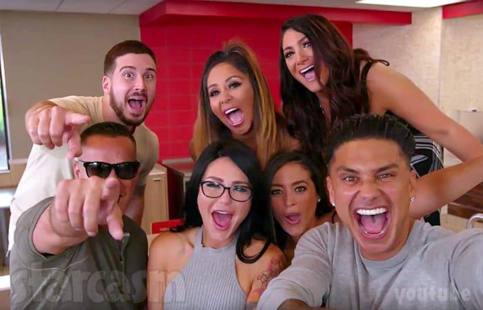Jersey Shore cast reunion Burger King
