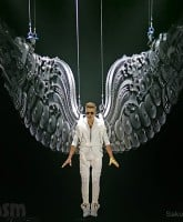 Justin Bieber angel wings