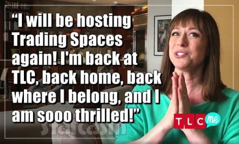 Paige Davis Trading Spaces host again