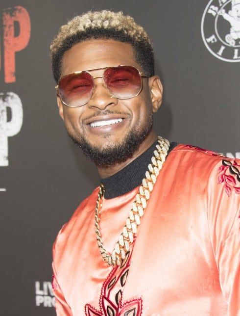 Los Angeles premiere of 'Can't Stop, Won't Stop: The Bad Boy Story' - Arrivals  Featuring: Usher Where: Los Angeles, California, United States When: 21 Jun 2017 Credit: Eugene Powers/WENN.com