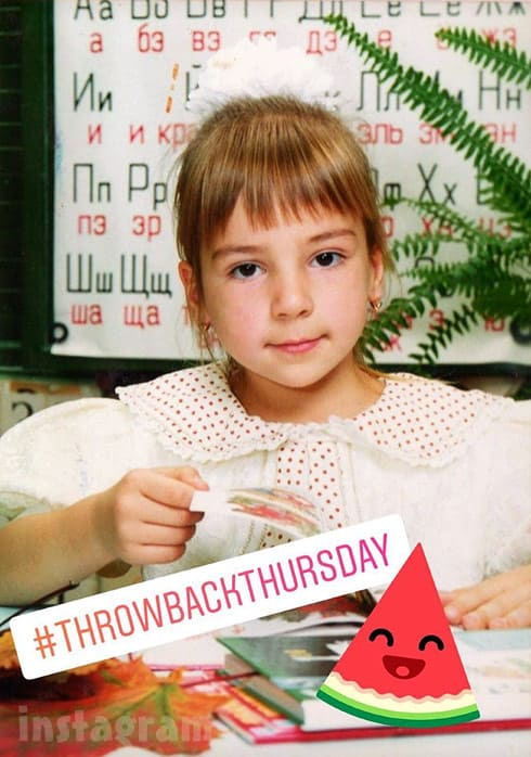 90 Day Fiance Anfisa throwback childhood photo