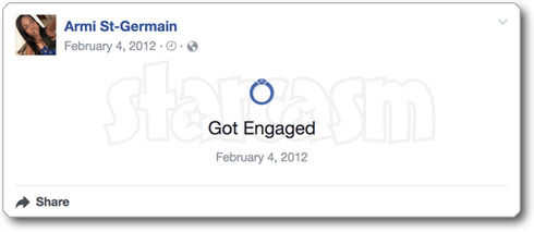 Before the 90 Days Abby engaged Facebook 2012