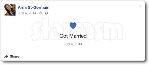 Before the 90 Days Abby was married before in 2014 according to Facebook