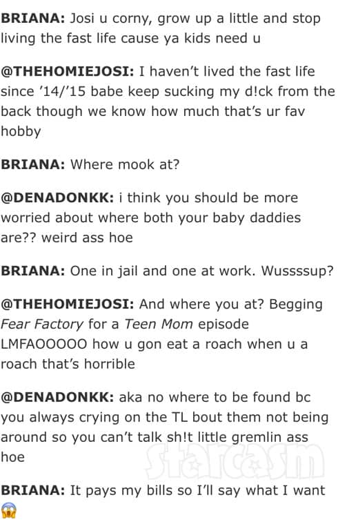 Teen Mom 2 Briana DeJesus Devoin Austin tweets 2