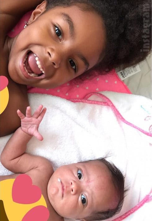Teen Mom 2 Briana DeJesus' daughters Nova and Stella together