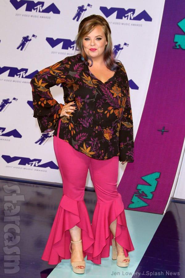 Teen Mom OG Catelynn Baltierra at the 2017 VMAs