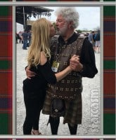 Debra Danielsen Dr David Merz Scottish wedding