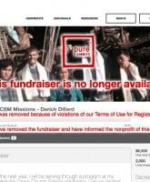Derick Dillard fundraiser shut down