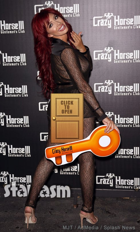 Farrah Abraham Crazy Horse 3 party - click for uncensored photo