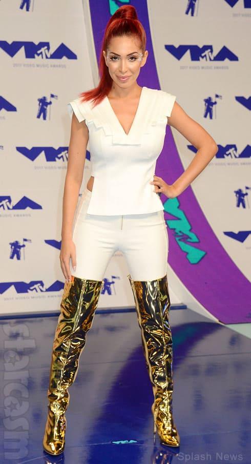 Farrah Abraham Video Music Awards 2017