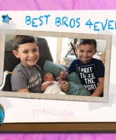 Kail Lowry three sons