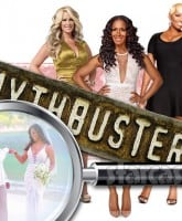 Kenya Moore wedding fake? Mythbusters Kim Zolciak Sheree Whitfield and NeNe Leakes are on the case!