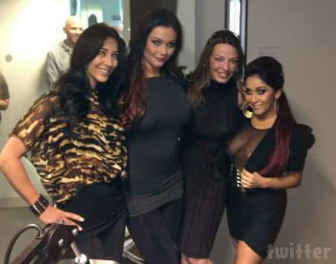 Snooki JWoww and Drita D'Avanzo together photo