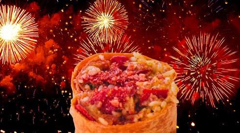 Taco Bell pop rocks burrito