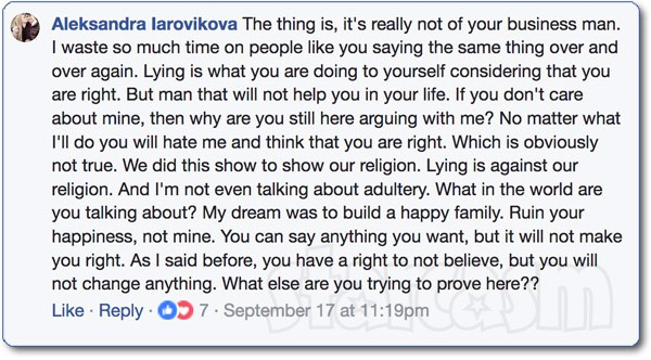 90 Day Fiance Aleksandra addresses biracial baby controversy