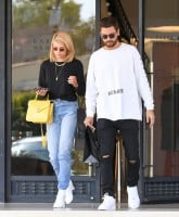 Scott Disick and Sophia Richie out and about