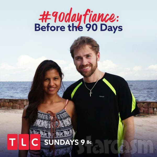Before the 90 Days Paul and Karine from Brazil
