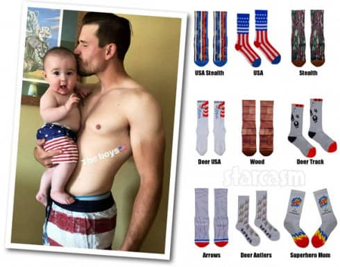 Cole DeBoer socks son Watson