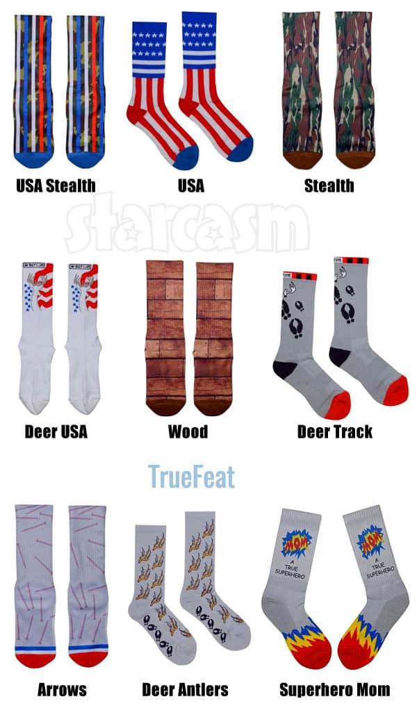 Cole DeBoer socks