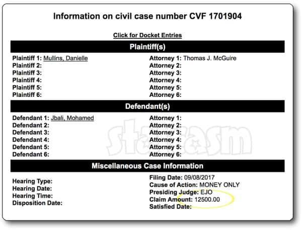 90 Day Fiance Danielle Jbali sues Mohamed for 12,500 dollars