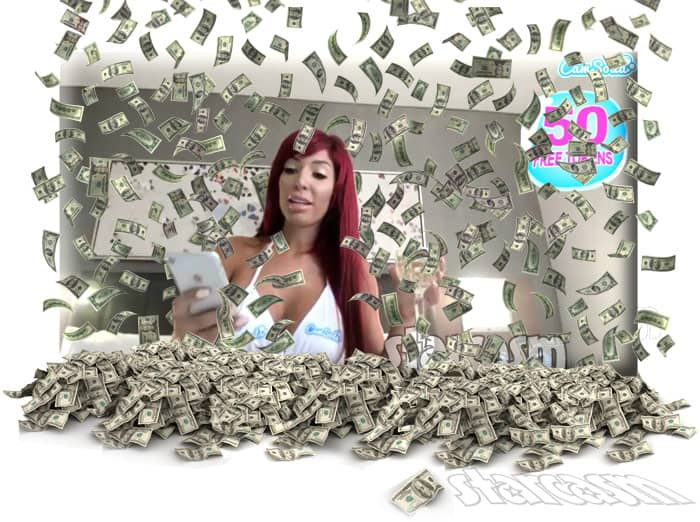 Farrah Abraham CamSoda money