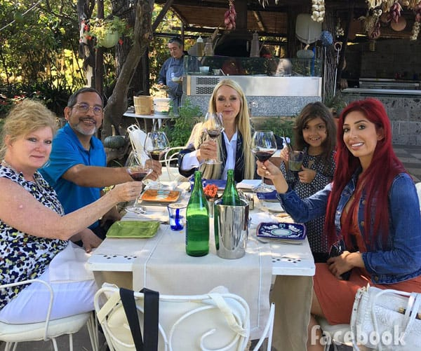 Farrah Abraham family in Italy