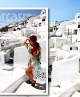 Farrah and Simon back together in Greece