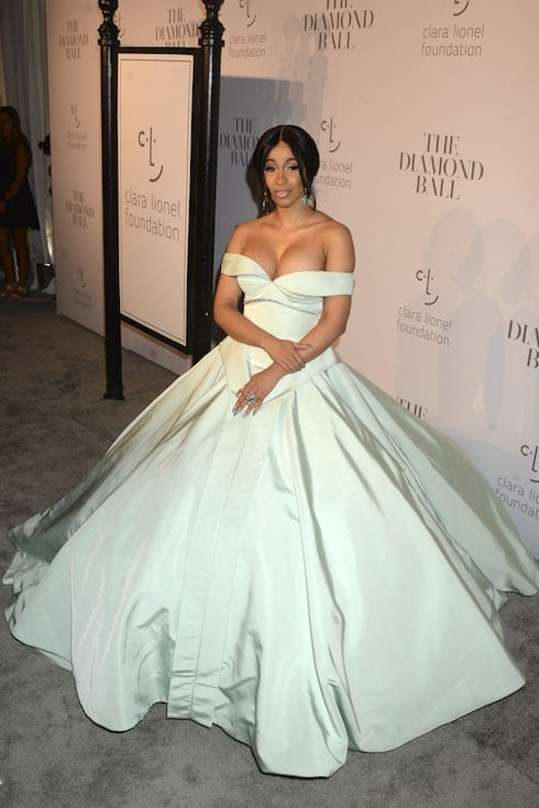 Is Cardi B Pregnant Baby Bump Tease For Offset
