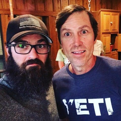 Jase shaved Beard