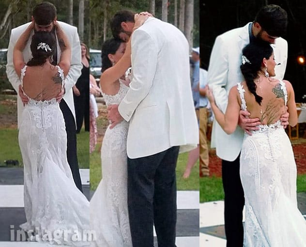 Jenelle Evans David Eason first dance wedding