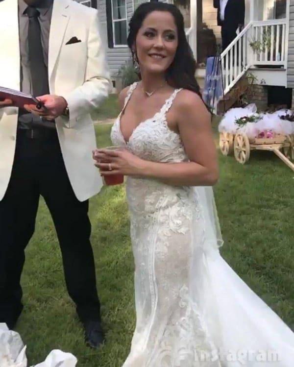 Farrah Wedding Dress 54 Trend Jenelle Evans wedding photos