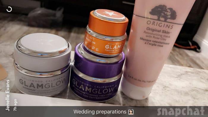 Jenelle Evans wedding makeup
