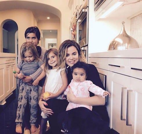 Khloe Kardashian motherhood 1