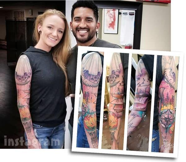 Maci Bookout McKinney_sleeve tattoo arm photos
