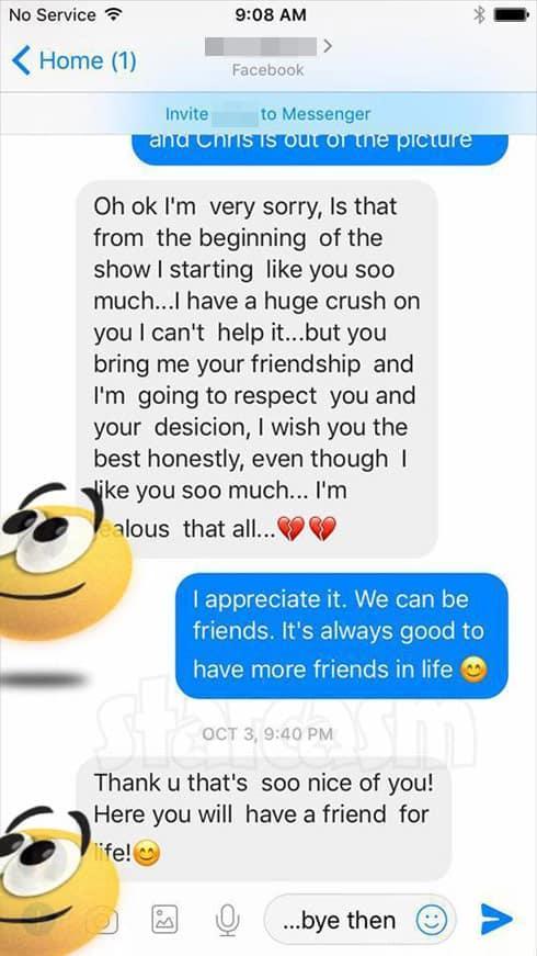 Abby Sean Hiler messages 3