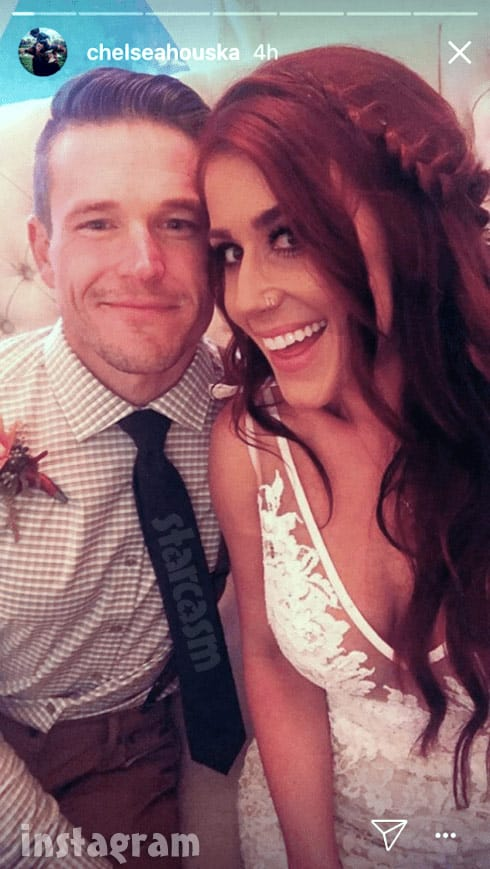 Chelsea Houska DeBoer wedding 2017