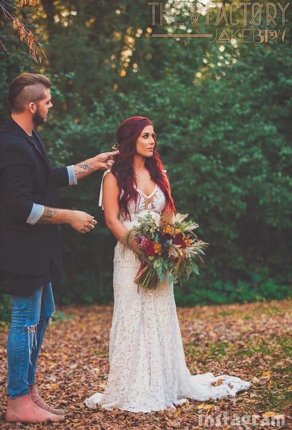 more chelsea houska deboer wedding photos On chelsea houska wedding dress designer