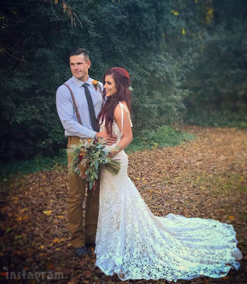 Chelsea Houska wedding photo