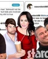 David Eason Randy Houska Nathan Griffith Ashley Lanhardt Jenelle Evans Twitter feud