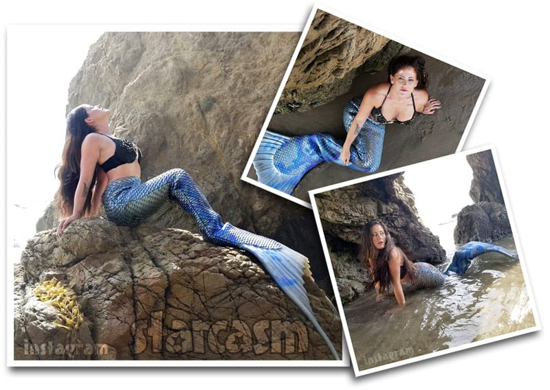 Jenelle Evans mermaid photos