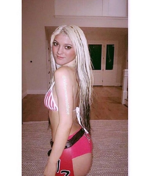 Kylie Jenner's old face 3