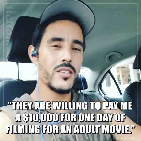 Mohamed Jbali adult film offer