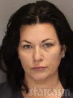 Molly Hopkins Arrest mug shot May 2012