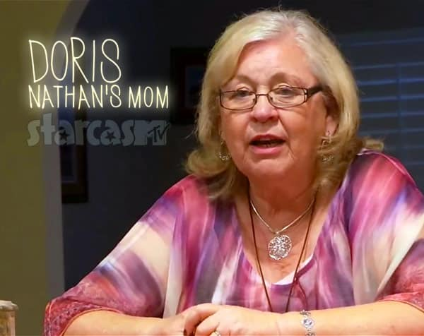 Nathan Griffith's mother Doris